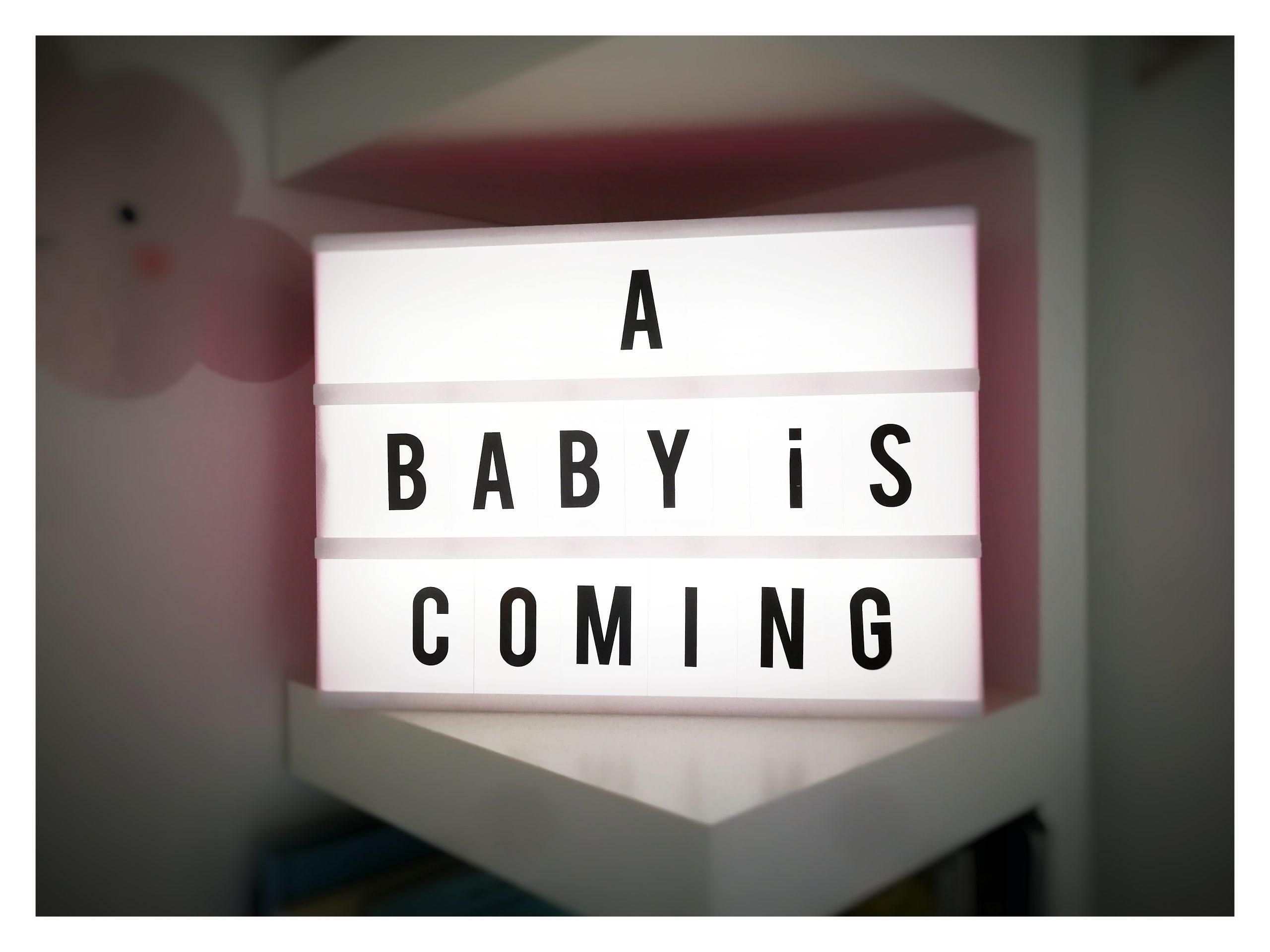 annunciare arrivo di un figlio
